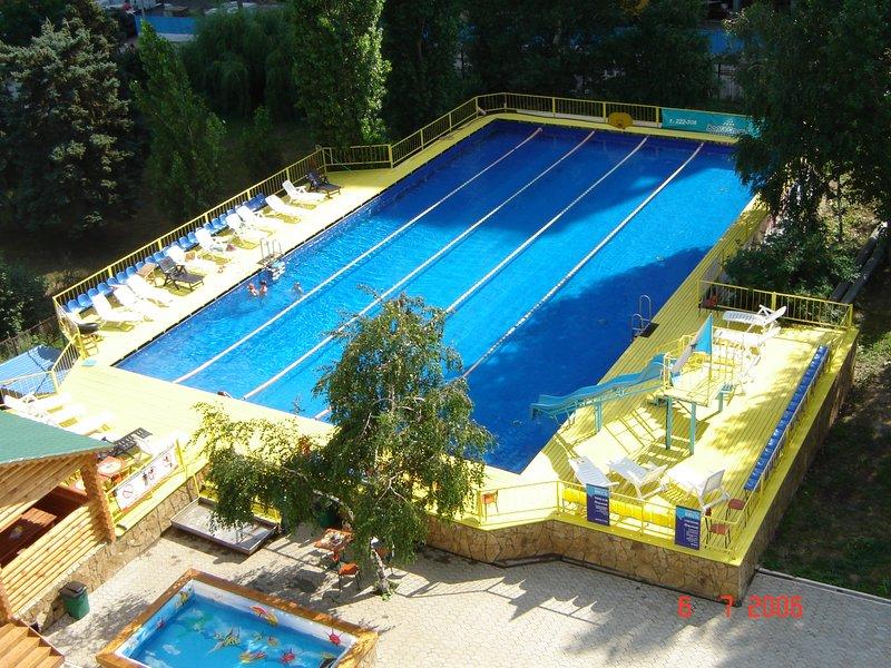 Открытый бассейн Юность в Саратове