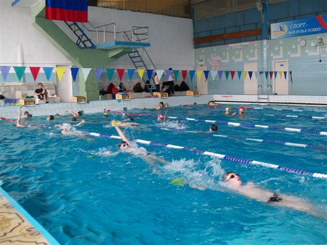 Бассейн спортивного комплекса Юность