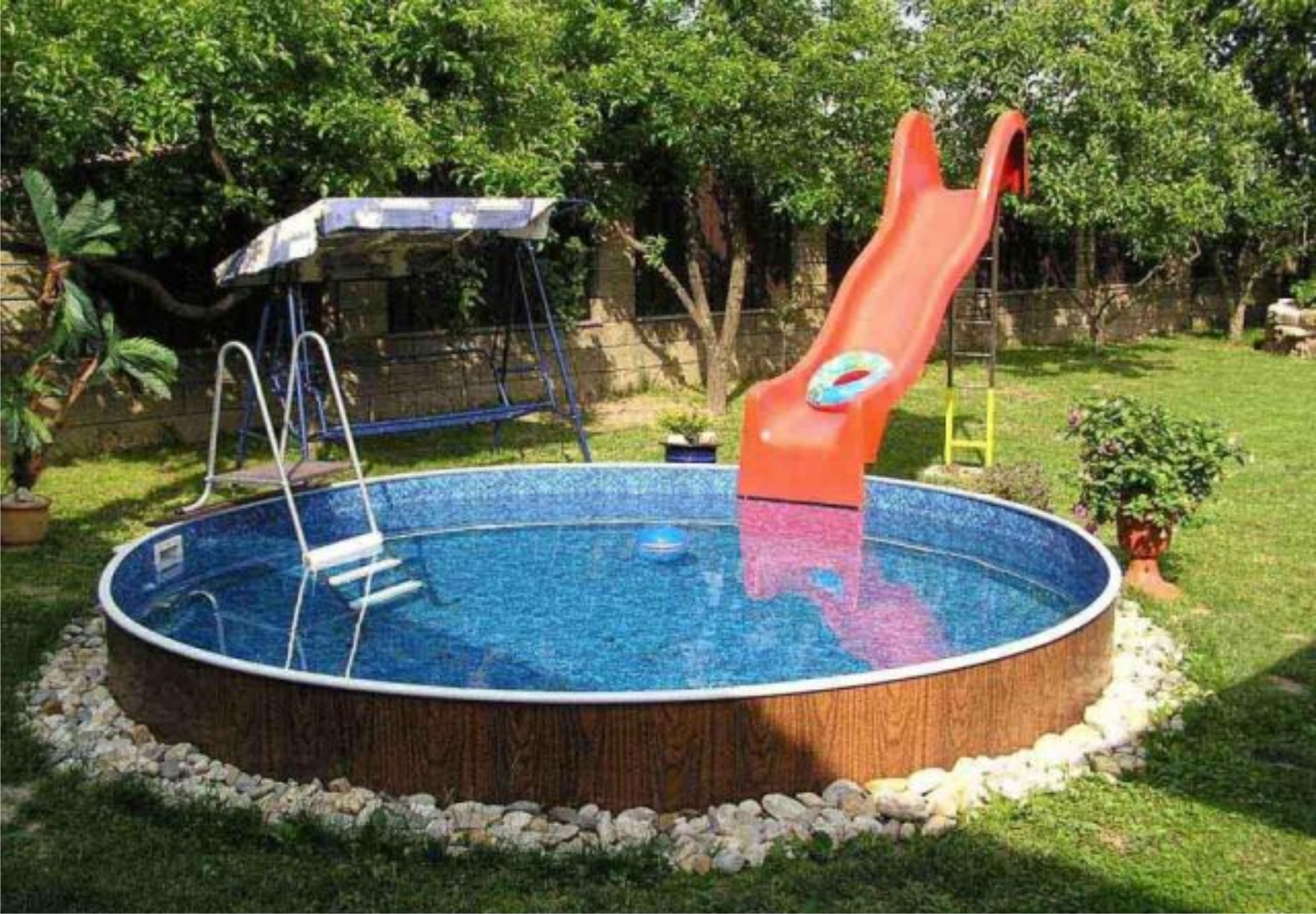 как сделать каркасный басейн