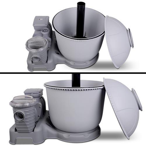 Песочный фильтр серого цвета