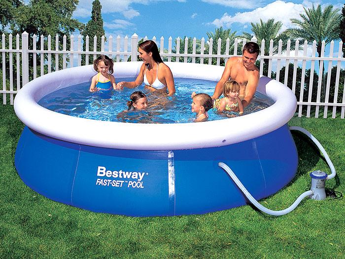 Надувной бассейн для семьи