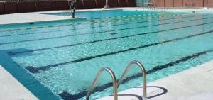 Большой бассейн для загородного дома
