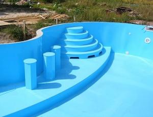 Полипропиленовая чаша бассейна