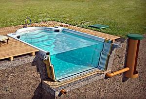 Создание бассейна
