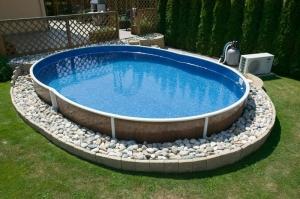Самодельные бассейны: материал для водоема, фото