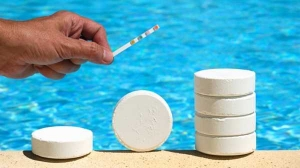 Хлор для бассейна в таблетках