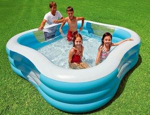 Надувной квадратный бассейн