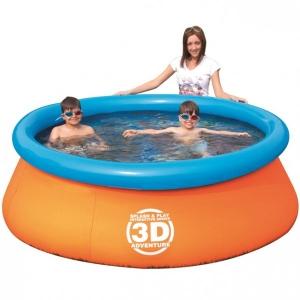 Детский бассейн 3D Adventure
