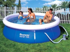 Надувной резиновый бассейн
