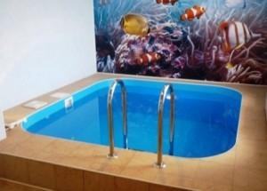 Как сделать бассейн в ванной, фото