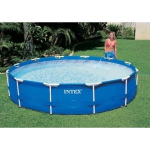 Круглый бассейн Intex