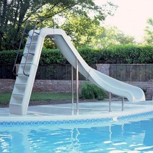 Горка для бассейна