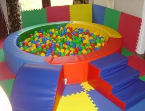 Кожаный сухой бассейн