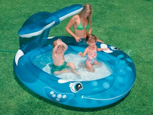 Надувной бассейн для самых маленьких